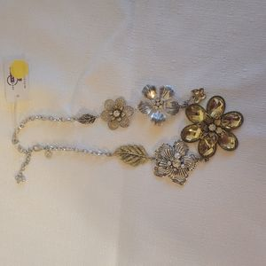 Just Jewelry Simply Irresistible Necklace 9 inches